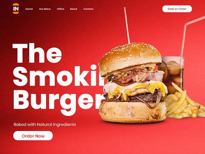 Online Food Order UI Design branding ux ui online food order food order online order homepage ui design