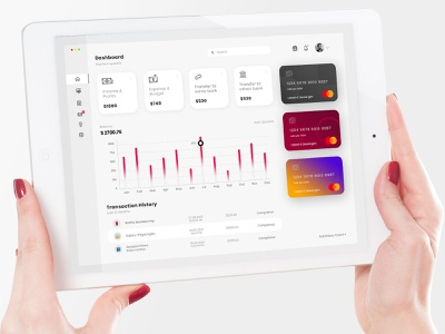 Finance Dashboard Design design photoshop fintech finance ui design uiux dashboard