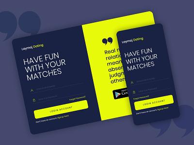 Login Page/Screen Design login screen design design app ui homepage appdesign ui design
