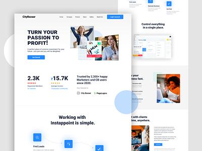Website Homepage UI website design web design photoshop design figma design design homepage ui