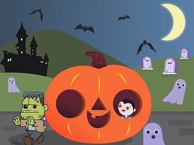 Хэллоуин illustration