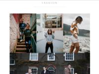 Fashion Websites fashion design logo ecommerce storefront website web design design graphic fashion