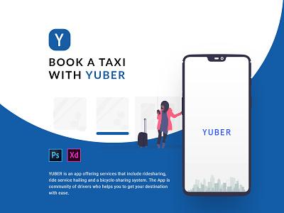 On Demand   Uber Redesign   Ride Sharing Mobile App booking app ride sharing driver app uber uxdesign mobile app mobile ui illustrator app flat minimal ux ui design