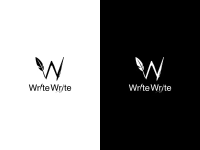 WriteWrite   Brand Identity   Logo Concept   Presentation vector logo illustrator notes app application app icon logo design brand design icon graphics flat  design flat branding brand identity art app ui ux design