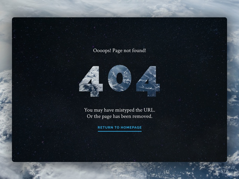 gatsby template 404 page by robert mayer dribbble dribbble