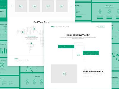 Meet Blokk: Smart wireframe kit 🚀 ux photoshop sketch prototype ui kit freebie wireframe ui kit typeface fonts free