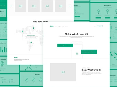 Meet Blokk: Smart wireframe kit 🚀