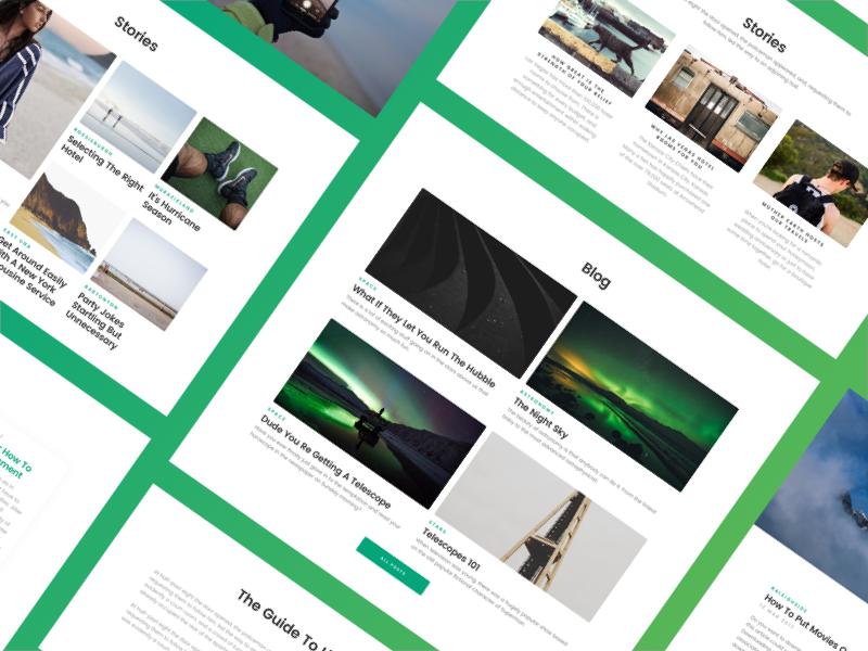 Made with Blokk — Blog Layout