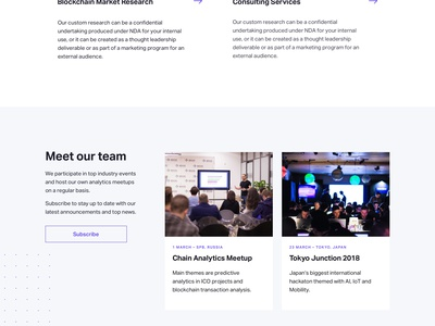 Ventuary – About & Services Pages fonts concept landing swiss token crypto tracker mining ethereum blockchain bitcoin ico