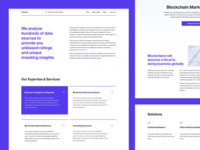 Ventuary – About & Services Pages