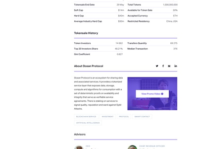 Ventuary – Company Card & How it Works Pages ico bitcoin blockchain ethereum mining tracker crypto token swiss