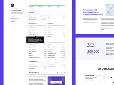 Ventuary – Company Card & How it Works Pages