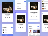 Rodman UI Kit: Music Player & Playlist Templates