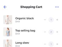 Shopping cart   rodman mobile ui kit