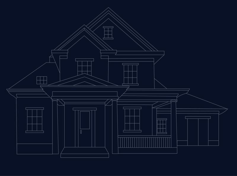 House Line art sketch house logo house illustration house lineart mimimalism adobe illustrator vector illustration design