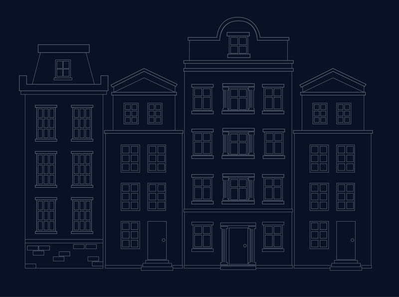 Community Line art sketch simple building community mimimalism lineart adobe adobe illustrator vector illustration design