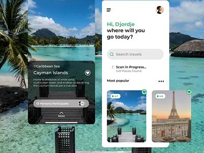 Travel app destination hawaii appdesigner application travelling travel app travel figma branding ui app design appdesign
