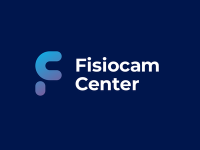 Fisiocam Center - Option A physiotherapy design minimal vector brand logo
