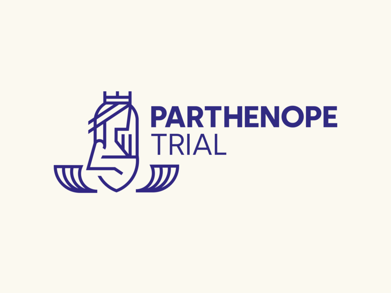 Parthenope Trial - Logo illustration vector logo typography