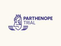 Parthenope Trial - Logo illustration vector logo typography