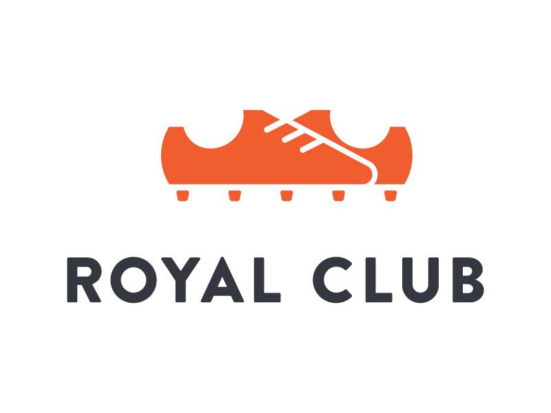 Royal Club - #2 soccer logo identity brand shoes football club school