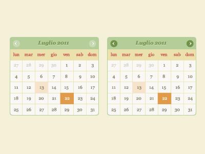 Corte Catalana Calendar calendar ui web