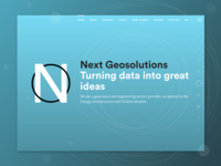 Next Geosolutions - homepage