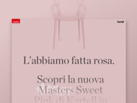 Mohd + Kartell - Landing page (Top)