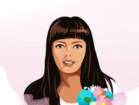selfportrait graphic design minimal illustrator flat art logo web vector illustration design