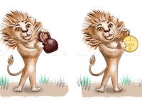 I am the king graphic design illustrator art logo web vector illustration design