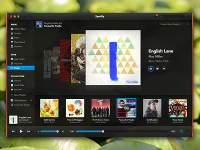 Spotify Desktop symbolset spotify music ui desktop app