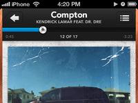 Music iphone nowplaying