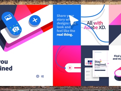 Adobe XD — Brand ux ui branding assets colors illustration logo adobe xd design creative cloud adobe