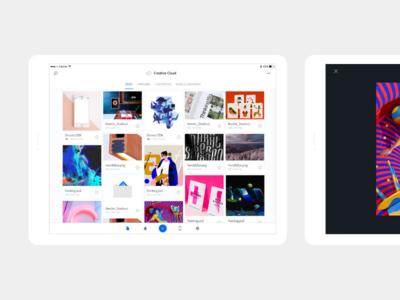 Creative Cloud — iPad
