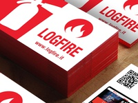 Logfire Business Card