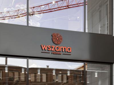 3D Logo Sign - Pizza Restaurant