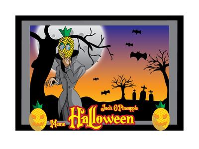halloween illustration meme meme artwork vector illustrator illustraion halloween