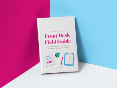 Front Desk E Book Illustration