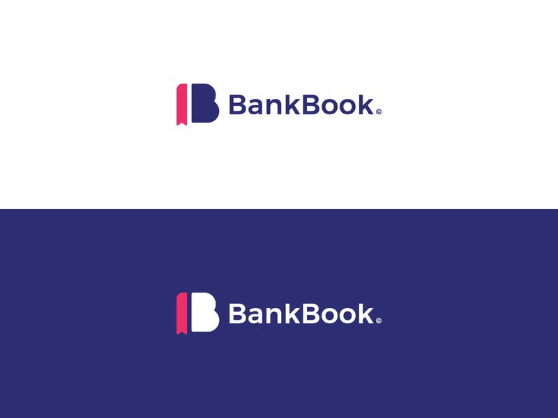 BankBook creative logo brand logo design brand identity design brand identity illustrator vector minimal logo icon flat design branding app