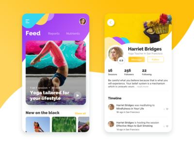 Yoga app for the busy millennial
