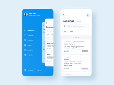 Booking Management App Design