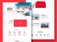 Red Tomato's Tomato Air Campaign airline website design promo campaign website design