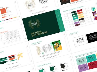 Madre Selva: New Identity Manual branding design branding and identity branding idenitity design