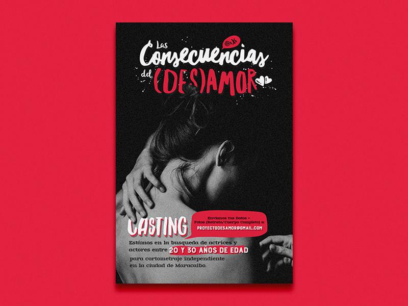Casting Poster film casting poster design poster logo design design
