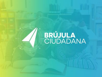 Brújula Ciudadana Reversed Logo
