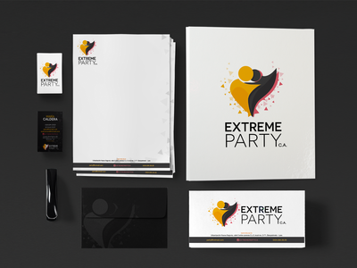 Extreme Party Stationery