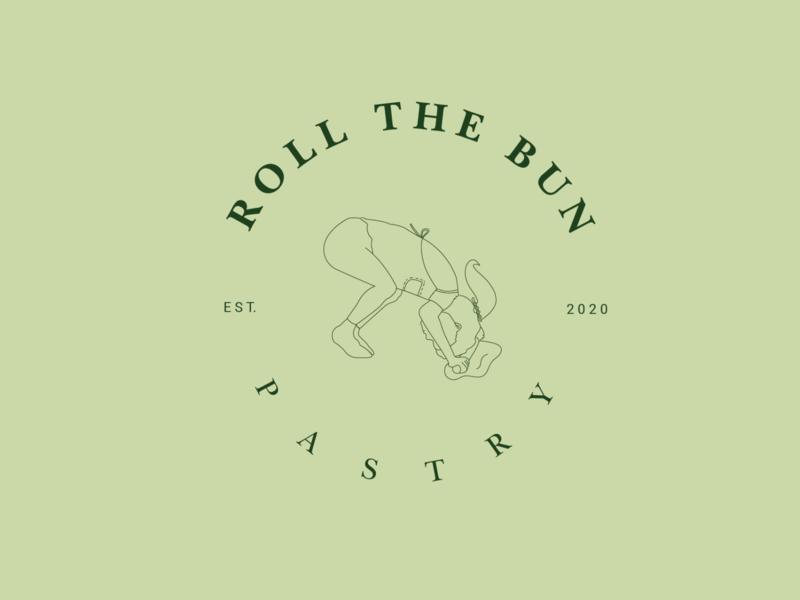 Pastry Logo Design minimalist logo branding lineart illustration design