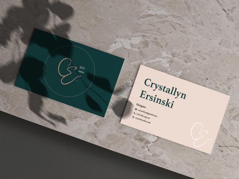 Business Card Design business card design graphic design typography logo design branding