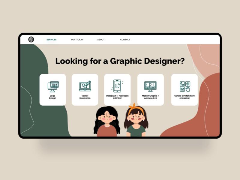 Website Design website design ui illustration