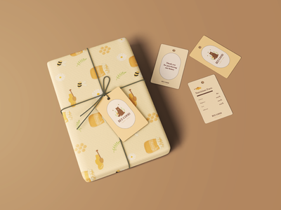 Bee Good Packaging carddesign honey packagingdesign packaging logo graphic design illustration branding design